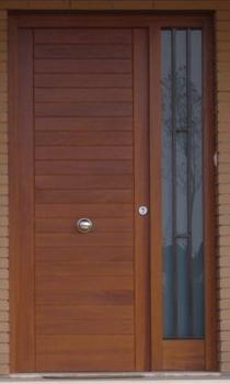 Puerta de entrada practicable ventanas jmgarcia - Puertas de entrada madera ...